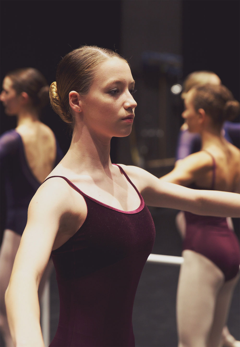 Professional Program - Barre Close-up